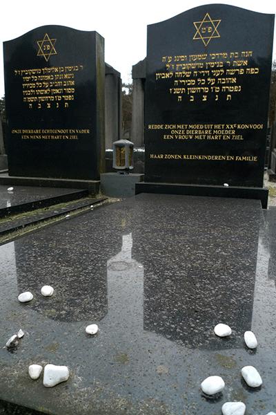 Joodse graf/gedenksteen/monument